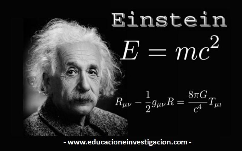 Biografía de Albert Einstein.
