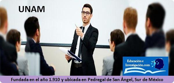 Maestría de la UNAM clases