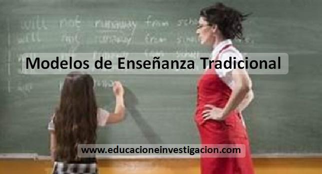Modelos de enseñanza tradicional