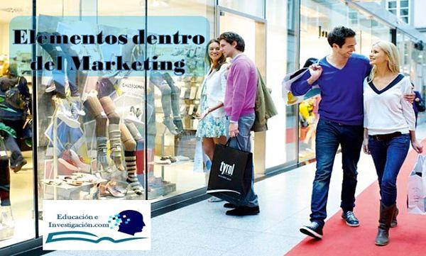Elementos dentro del Marketing en la Investigación Comercial