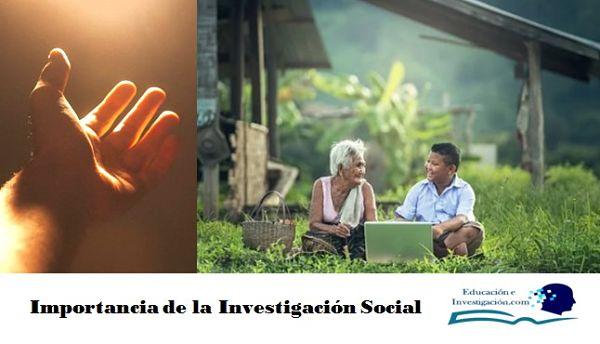 Importancia de la Investigación Social