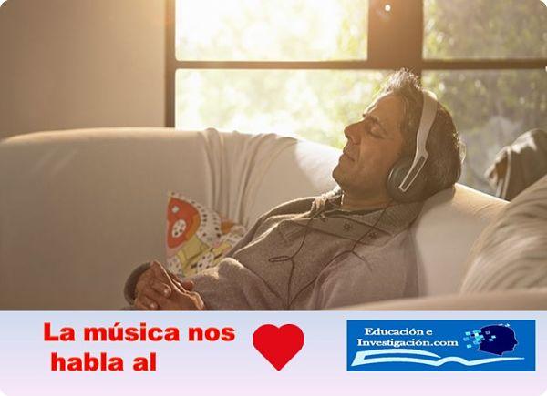La música nos habla al corazón