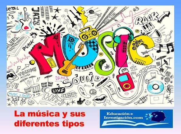La música y sus diferentes tipos