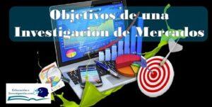 Objetivos de una investigación de mercados