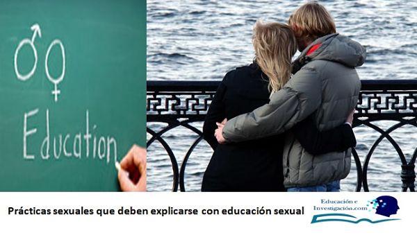Prácticas sexuales que deben explicarse con educación sexual