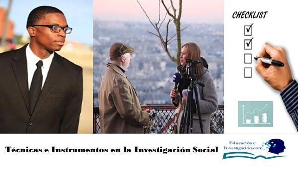 Técnicas e Instrumentos en la Investigación Social