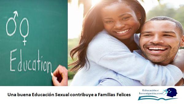 Una buena Educación Sexual contribuye a Familias Felices