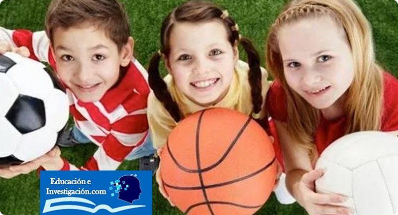 Importancia de la educaciòn física niños y sus balones