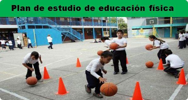 Plan de estudio de educación física