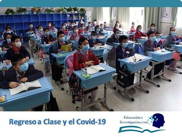 Regreso a clase y el Covid-19 Clases interrumpidas
