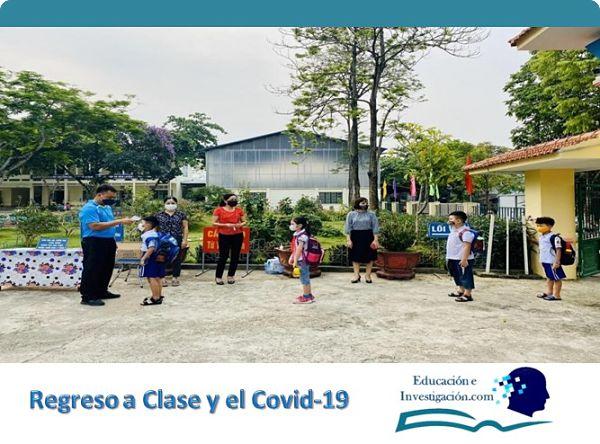 Regreso a clase y el Covid -19 Distanciamiento social