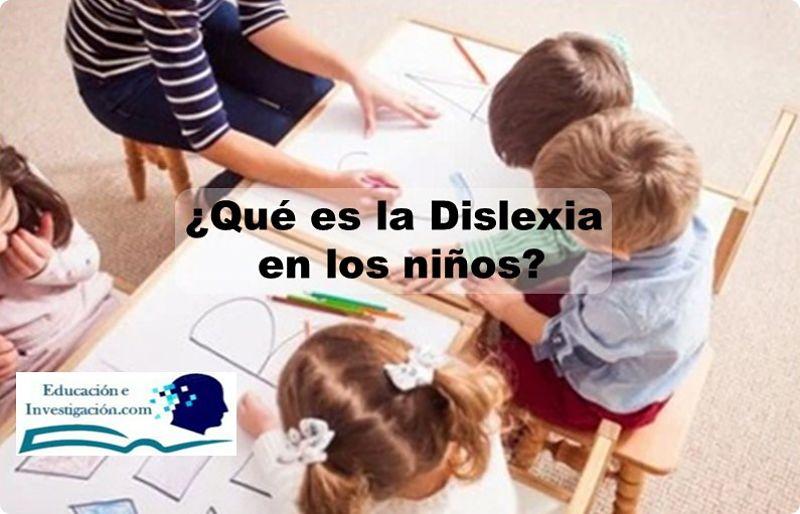 Qué es la dislexia en niños del pre-escolar