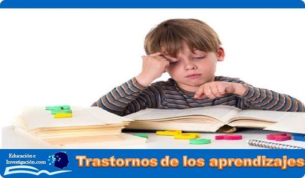 Trastornos del aprendizaje niño disperso