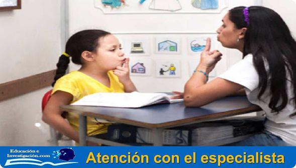 Atención con el especialista a niños con disgrafía