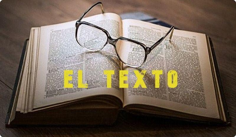 ¿Qué es el texto y para que sirve? una imagen con un libro abierto.