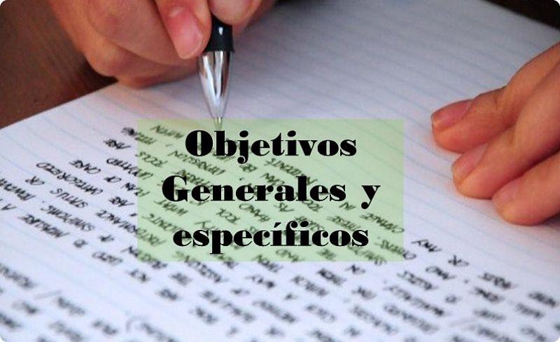 Objetivos generales y específicos en la elaboración del anteproyecto de investigación