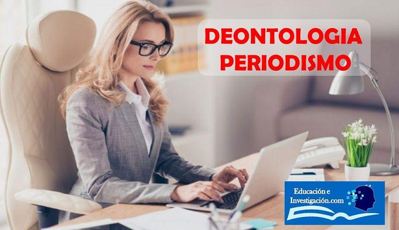 Deontología Periodismo