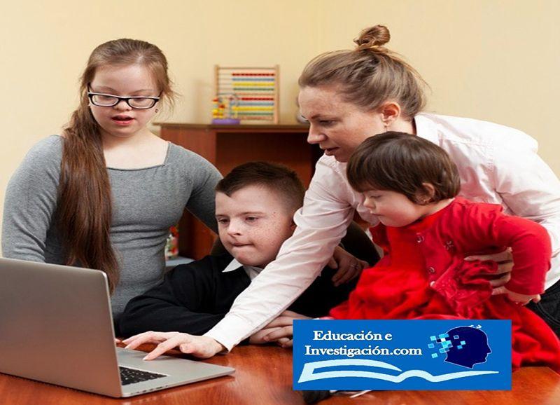 Trabajar con niños Down en casa, en diferentes situaciones