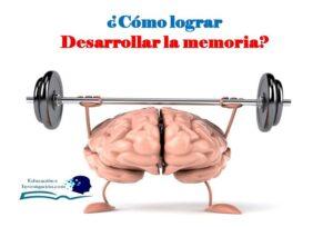 Cómo lograr desarrollar la memoria
