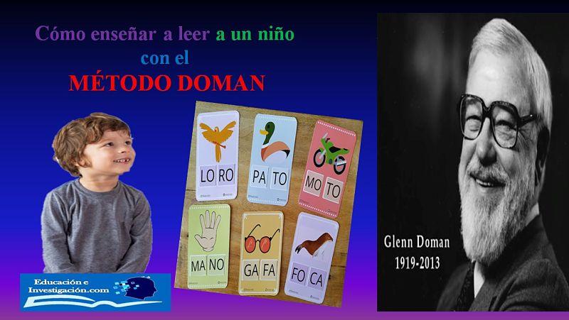 cómo enseñar a leer a un niño con el método Doman