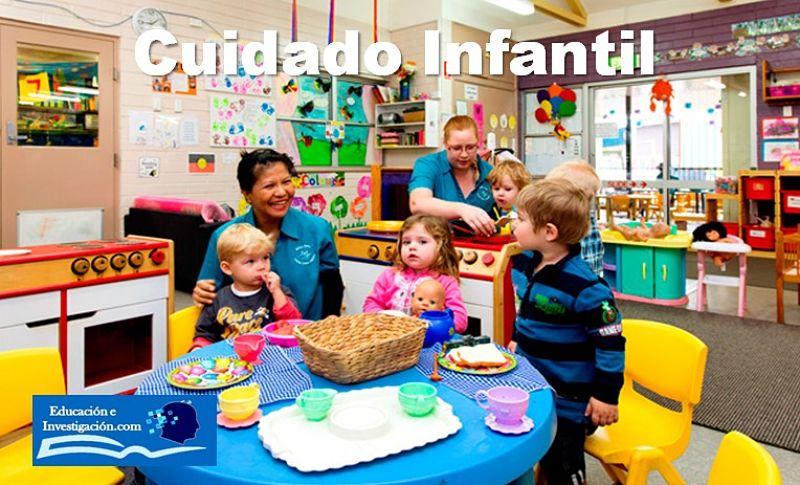 el cuidado infantil al momento de iniciar