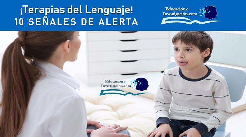 terapias del lenguaje 10 señales de alerta
