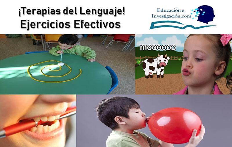 terapias del lenguaje ejercicios efectivos