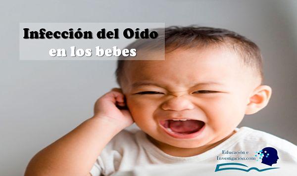 Enfermedades más comunes en los bebés, infección del oído
