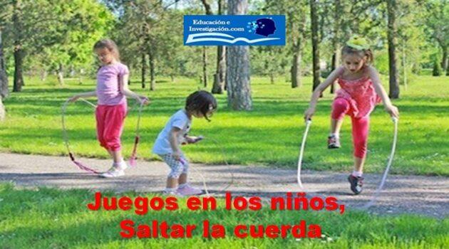 Juegos en los niños, Saltar la cuerda