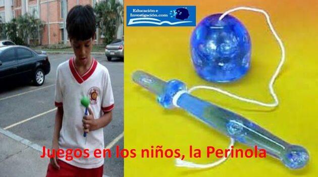Los Juegos en los niños, La perinola